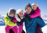 Ferienhotel Alber in Mallnitz in Kärnten, Österreich, Ski fahren Familie