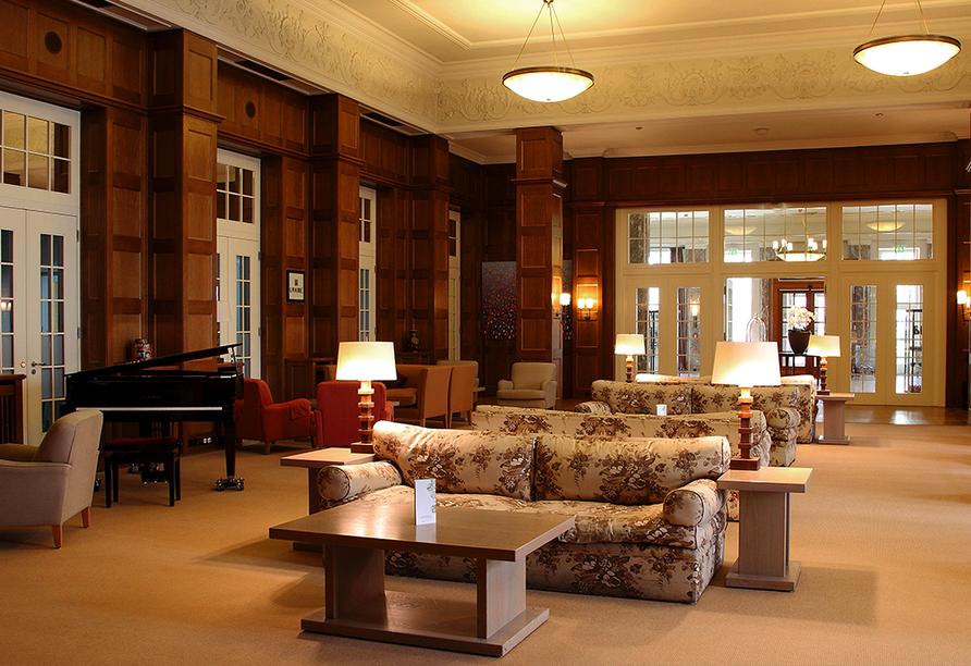 Parkhotel Quellenhof Aachen, Kaminhalle