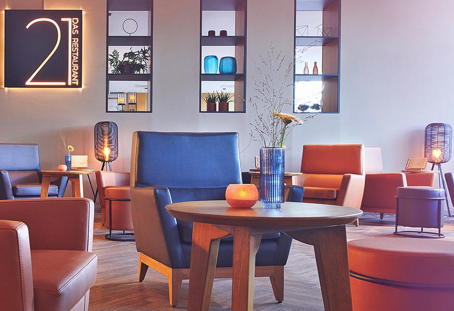 Atlanta Hotel International Leipzig, Restaurant