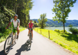 Donauradreise, Radfahrer