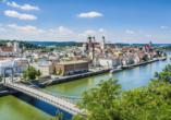 Donauradreise, Passau