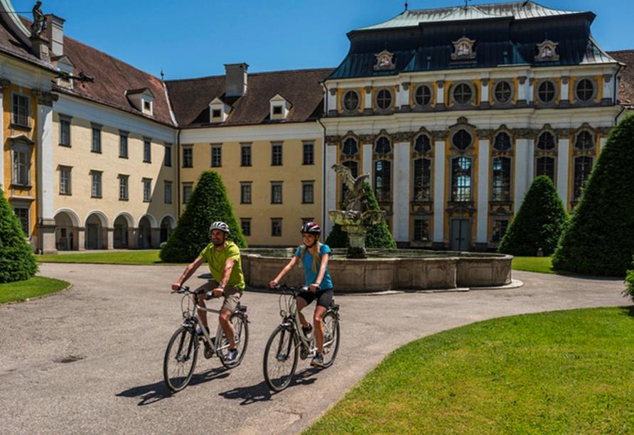Donaureise, Radfahrer