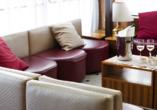 Hotel Primavera & Meeting in Stresa, Lago Maggiore, Italien, Sitzbereich Hotel Meeting