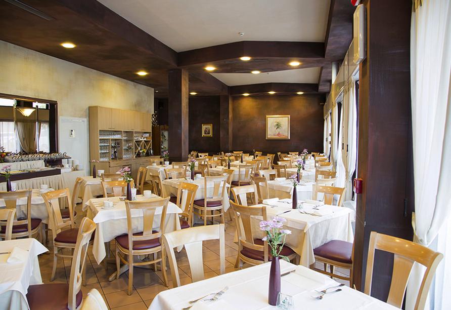 Hotel Primavera & Meeting in Stresa, Lago Maggiore, Italien, Restaurant Hotel Meeting