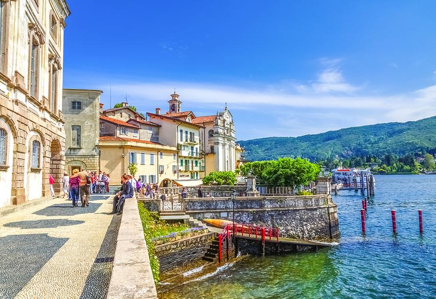 Hotel Primavera & Meeting in Stresa, Lago Maggiore, Italien, Uferpromenade