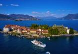 Hotel Primavera & Meeting in Stresa, Lago Maggiore, Italien, Isola Bella