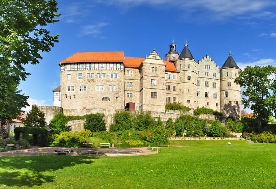 Waldhotel Hurbertus, Schloss Bertholdsburg