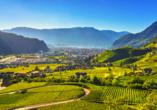 Hotel San Valier in Cavalese, Trentino Südtirol, Südtirol Landschaft