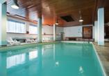 Hotel San Valier in Cavalese, Trentino Südtirol, Hallenbad