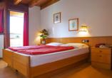 Hotel San Valier in Cavalese, Trentino Südtirol, Zimmerbeispiel Classic