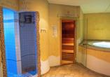 Hotel San Valier in Cavalese, Trentino Südtirol, Wellnessbereich