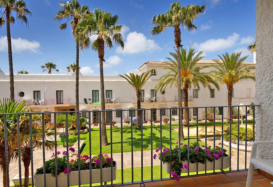 Hotel Playa de la Luz, Garten