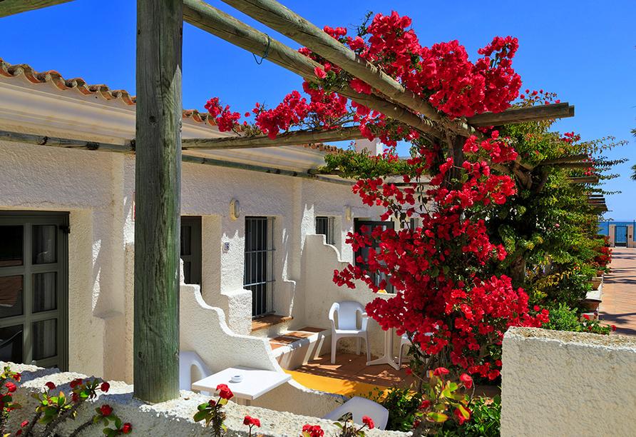Hotel Playa de la Luz, Terrasse