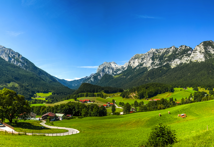 Hotel Schwabenwirt in Berchtesgaden, Alpen