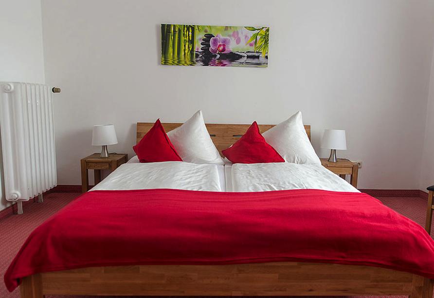 Hotel Schwabenwirt in Berchtesgaden, Beispiel Doppelzimmer