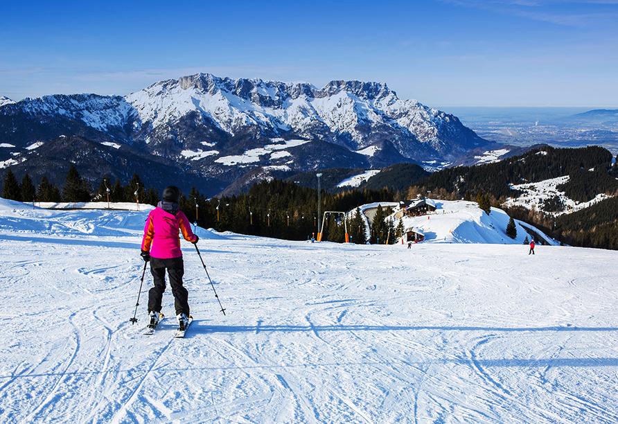 Hotel Schwabenwirt in Berchtesgaden, Skifahren