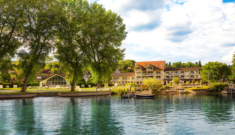 Hotel Hoeri am Bodensee in Gaienhofen, Außenansicht