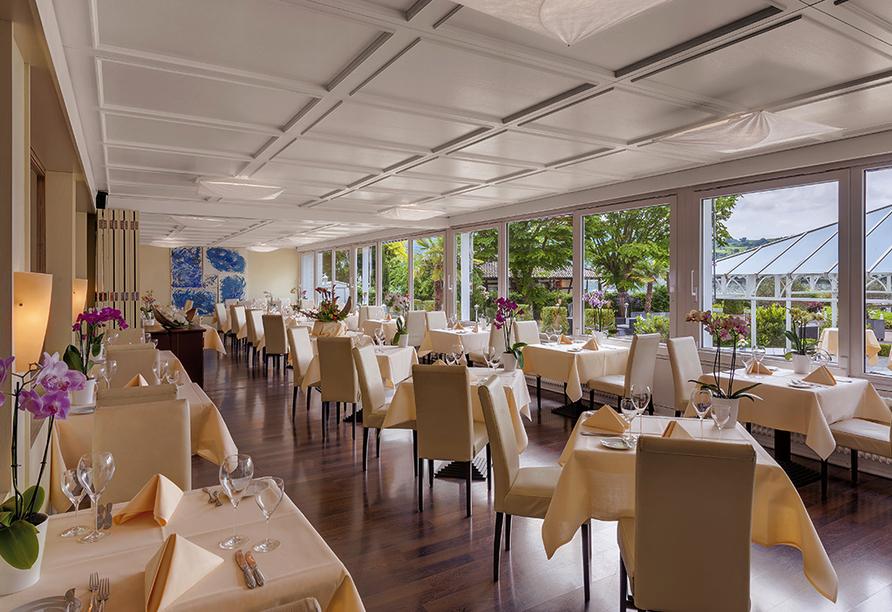 Hotel Hoeri am Bodensee in Gaienhofen, Restaurant