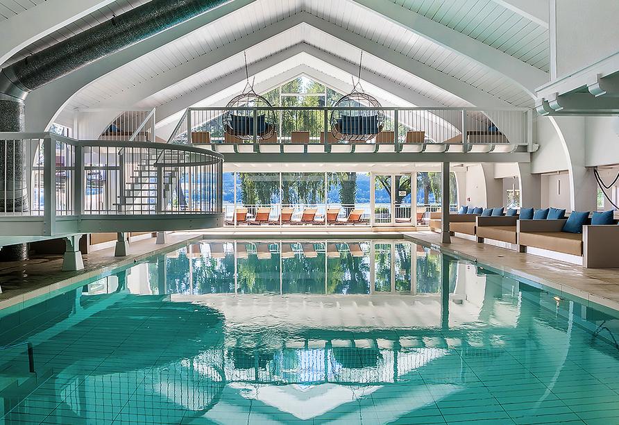 Hotel Hoeri am Bodensee in Gaienhofen, Hallenbad