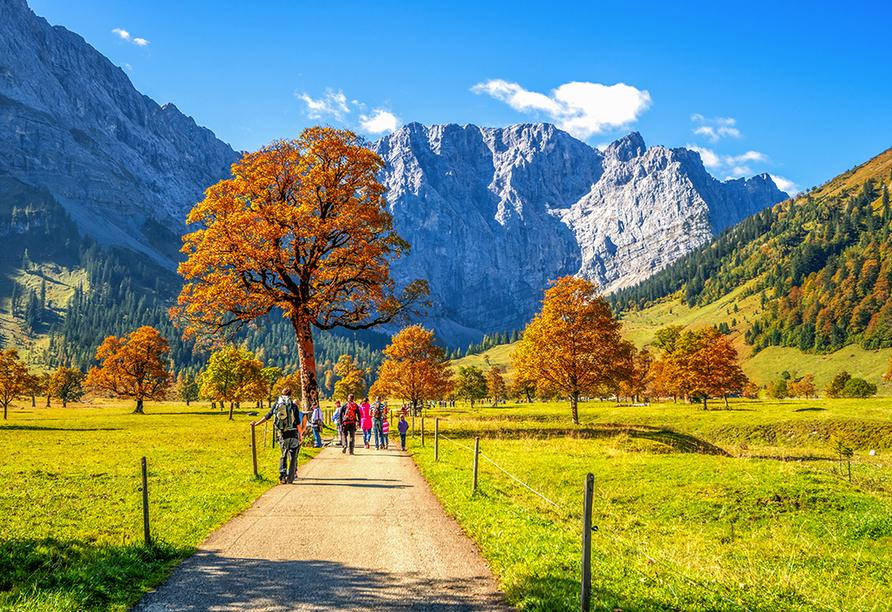 Hotel Taxacher in Kirchberg, Tirol, Österreich, Wandern