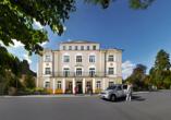 Hotel La Passionaria in Marienbad in Tschechien, Außenansicht