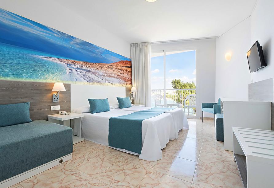 Hotel azuLine Mar Amantis in Bahia de San Antonio, Beispiel Doppelzimmer Premium Mar Amantis I