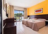 Hotel azuLine Mar Amantis in Bahia de San Antonio, Beispiel Doppelzimmer Mar Amantis II