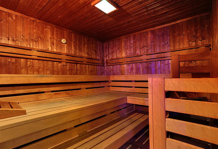 Active & Wellness Hotel Subterra in Ostrov, Sauna