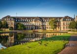 insel-hotel Heilbronn, Neues Schloss in Stuttgart