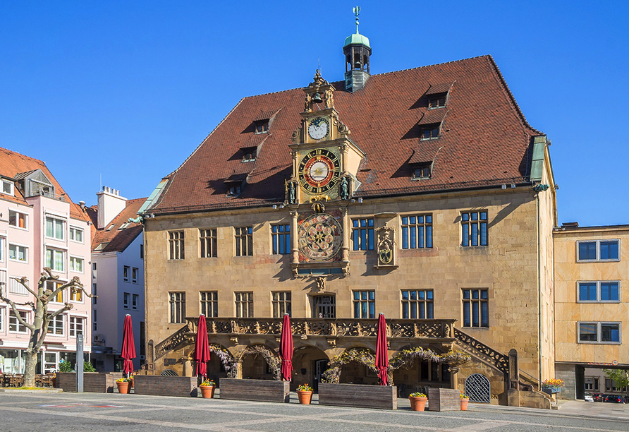 insel-hotel Heilbronn, Rathaus Heilbronn