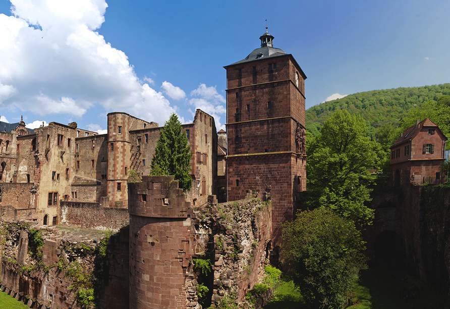 insel-hotel Heilbronn, Heidelberger Schloss
