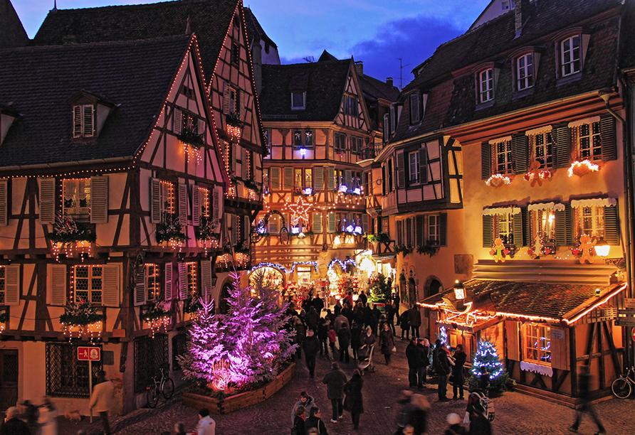 Hotel du Parc Wellness & Beauty in Bad Niederbronn, Weihnachtsmarkt Mulhouse