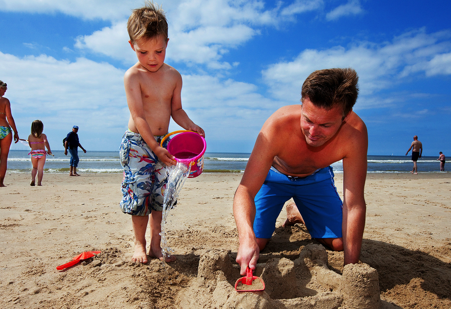 Roompot Vakantiepark Kijkduin, Strandspaß