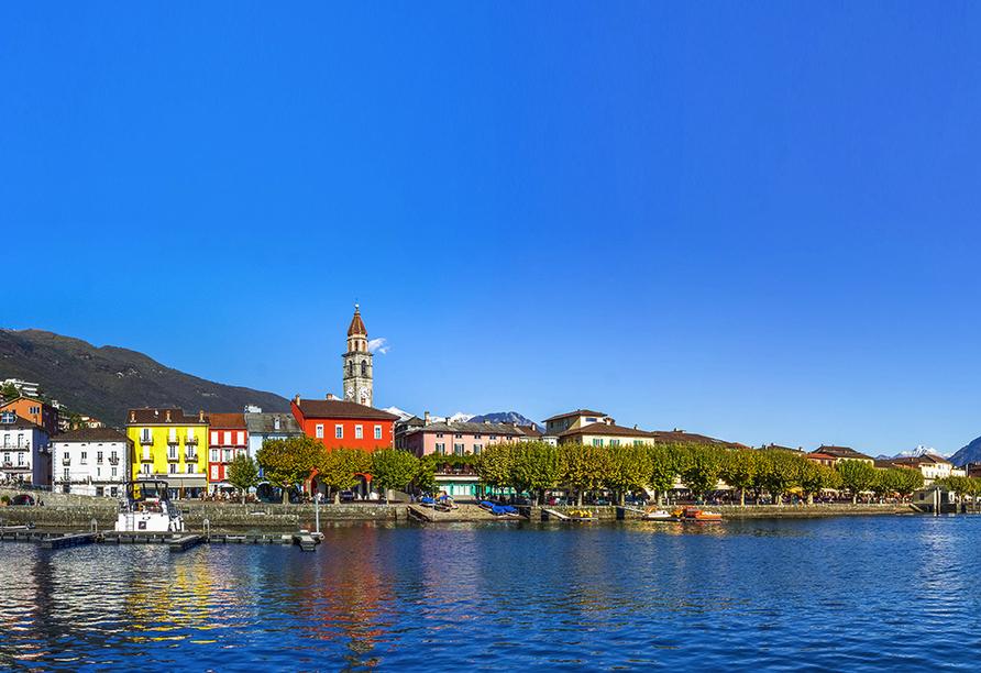 Norditalien und Schweiz, Ascona
