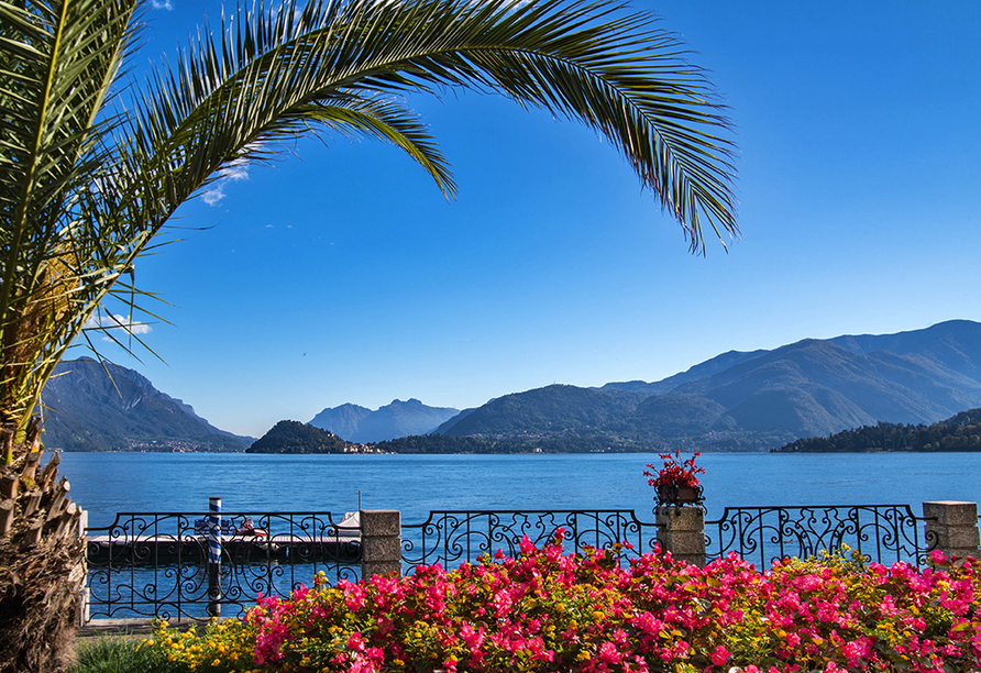 Norditalien und Schweiz, Comer See