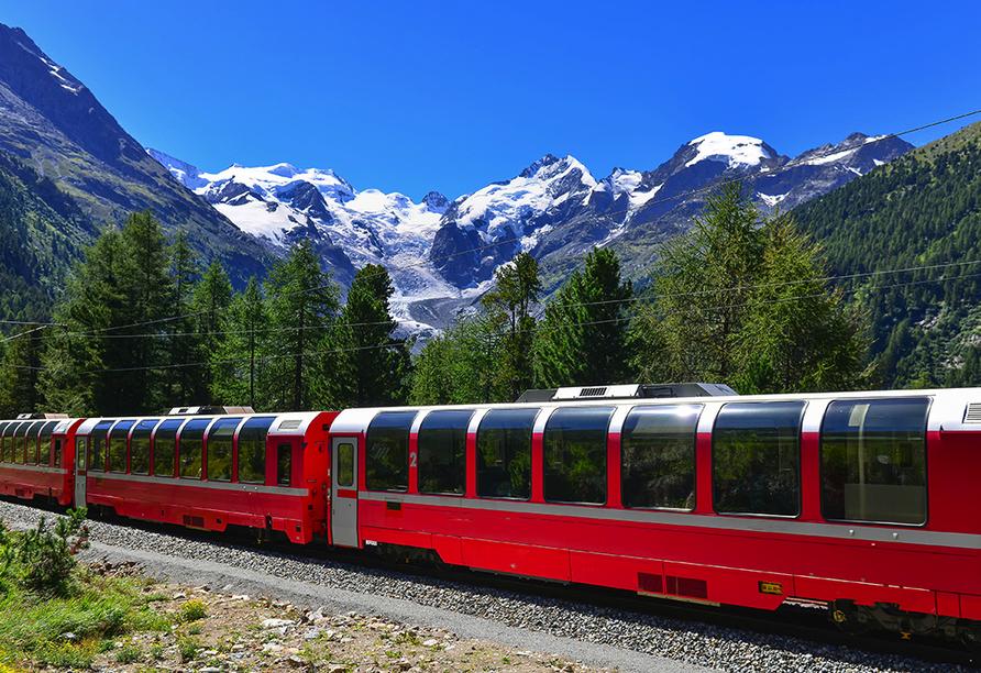 Norditalien und Schweiz, Bernina Express