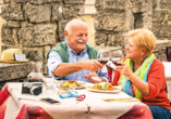 Norditalien und Schweiz, Italienische Küche