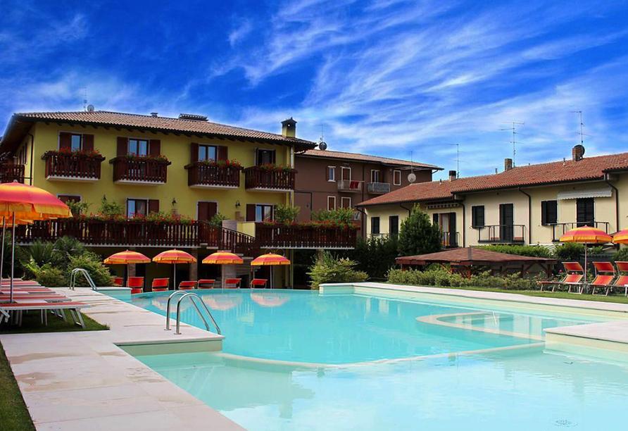 Norditalien und Schweiz, Beispielhotel Europlan Hotels, Hotel Romantic