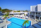 Hotel Oceanis Park in Ixia, Rhodos, Griechenland, Pool