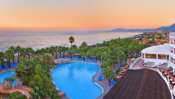 Hotel Marbella Playa, Außenanlage