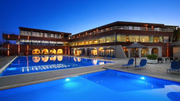 Hotel Blue Dolphin, Chalkidiki, Außenpool