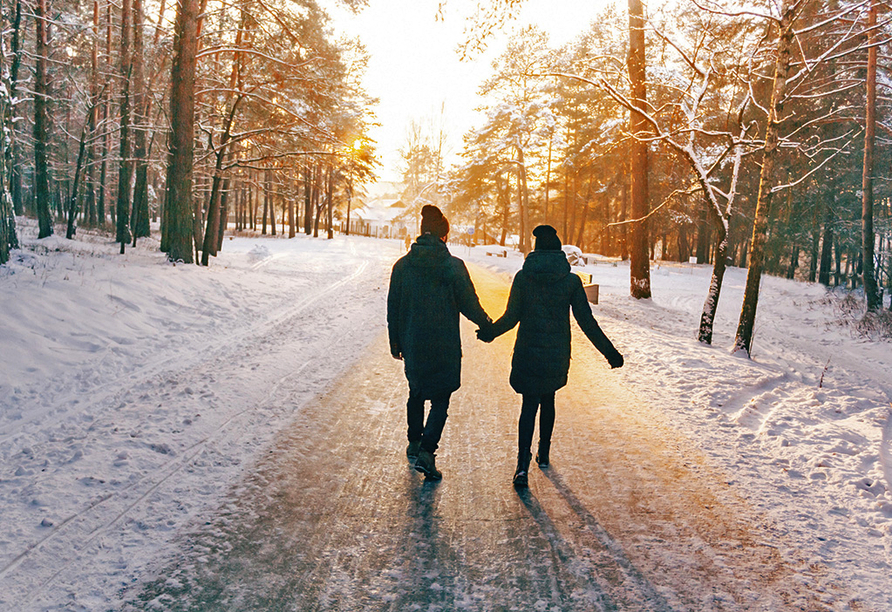 Hotel Edelweiss in Willingen, Winterlandschaft