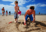 Roompot Beach Resort Nieuwvliet-Bad, Strandspaß