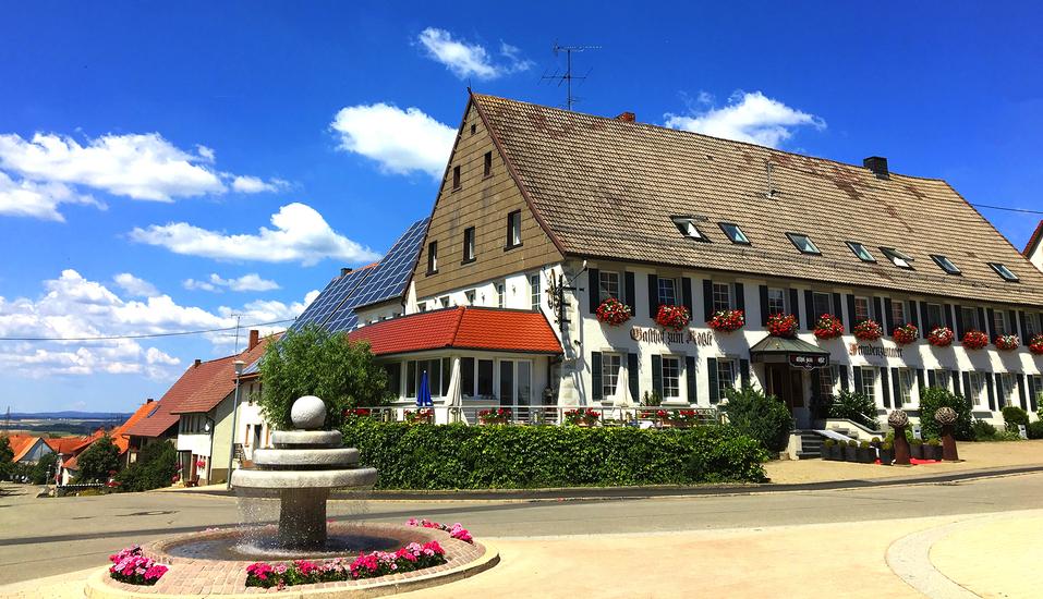 Hotel Gasthof zum Rössle in Hüfingen-Fürstenberg, Stammhaus