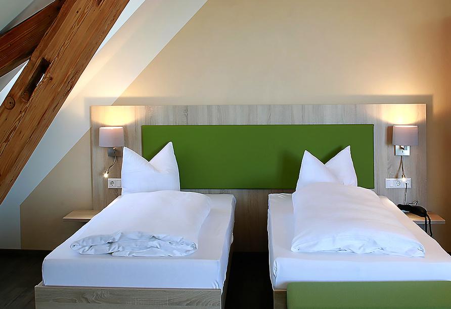 Hotel Gasthof zum Rössle in Hüfingen-Fürstenberg, Zimmerbeispiel