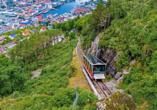 Costa Favolosa, Fløibanen in Bergen