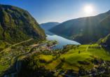 Costa Favolosa, Flåm Aurlandsfjord