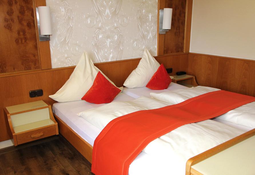 Hotel Gassbachtal in Grasellenbach, Odenwald, Zimmerbeispiel
