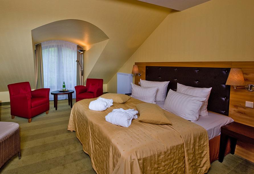 Hotel Habichtstein, Beispiel eines Doppelzimmers Superior