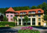 Hotel Habichtstein, Außenansicht